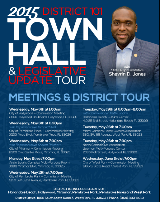 2015 town hall sherwin d jones