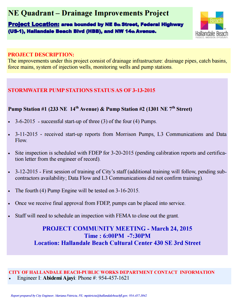 Drainage Flyer 14thAveUpdateMeeting